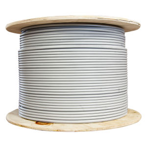 CAT6 UTP 23AWG PVC Jacket Bare Copper LAN Cable pictures & photos