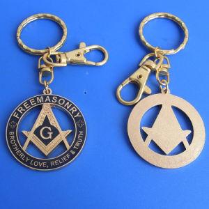 Custom New Type Metal Enamel Charming Masonic Keyring (ASNY-KC-TM-039) pictures & photos