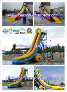 Durable Outdoor Long Water Slide Inflatable Water Slide for Pool (MIC-046) pictures & photos