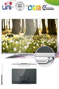 LED TV 32 Inch TV LED LCD 1080P Full HD Newest Super Slim Narrow Private Mould Golden TV pictures & photos