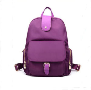 New Simple Leisure Fashion Nylon Backpack Schoolbag pictures & photos