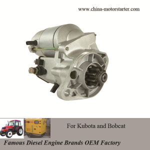 China Denso Electric Motor Starter For Kubota Bobcat