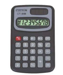 Pocket Calculator (CT-888)