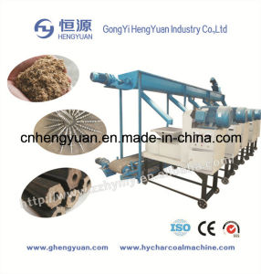 Biomass Wood Sawdust Briquette Making Machine with CE pictures & photos