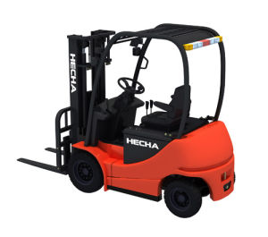 3ton Electric Forklifts Truck Hecha Forklift pictures & photos