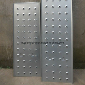 Galvanized Metal Scaffolding Plank / Platform pictures & photos