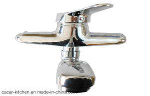 Classical Stainless Steel Wall Embedding Type Kitchen Faucet (ST08) pictures & photos