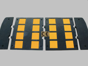 Rubber Road Safety Speed Hump pictures & photos