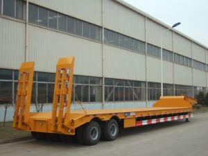 Container Low Bed Trailer Zjv9658td
