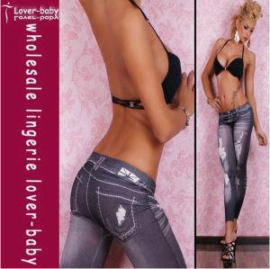2012 Fashing Legging Black Jeans Legging for Girls (L9416) pictures & photos