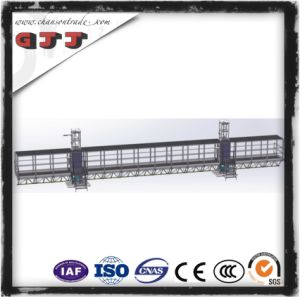 GJJ SCP Type Suspended Safety Work Platform for Building Construction Double Columns Single Floor
