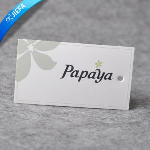 Hot Sell Hang Paper Tag for Garment Without MOQ pictures & photos