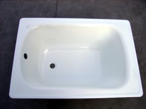 1200*700*390mm Rectangle White Bath Tub pictures & photos