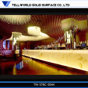 Red Marble Stone Restaurant Bar Design Modern Fast Food Counter Restaurant Counter pictures & photos