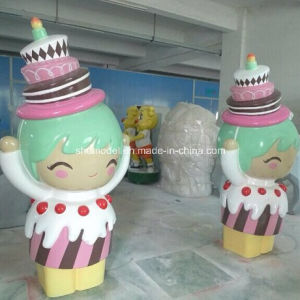 FRP Big Ice Cream Action Figure for Decoration (OEM) pictures & photos