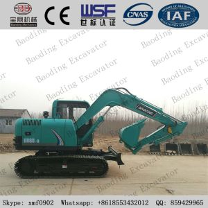 Baoding Construction Machinery Small Yellow 0.2-0.5m3 Bucket Crawler Excavator Machine pictures & photos