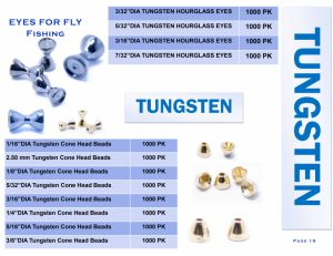 Wholesale Tungsten for Fly Fishing Fishing Weight pictures & photos