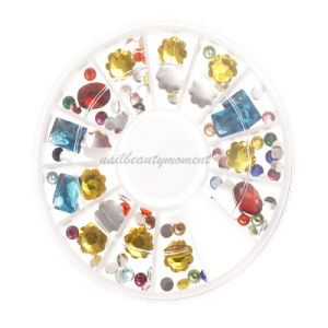 Manicure Nail Art Beauty Rhinestone Crystal Gem Decoration Accessories (D76) pictures & photos