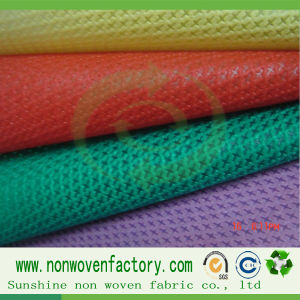 PP Cross Non Woven Cambrella Fabric PP Spunbond Nonwovens pictures & photos