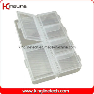 Plastic 6-Cases Pill Box (KL-9128) pictures & photos