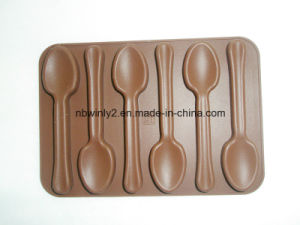 6PCS Spoons Chocolate Mould pictures & photos