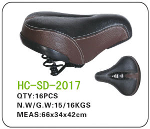 Dark Color Electric Bicycle Saddle (SD-2017) pictures & photos