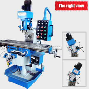Zx6350za China Drilling Milling Machine with Tapping Function pictures & photos