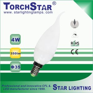 4100k 4W Energy Saving F35 LED Bulb with 25000hrs Lifetime pictures & photos