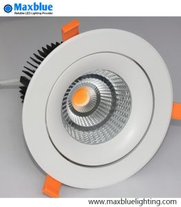 20W/30W/35W Triac/0-10V/Dali Dimmable Recessed LED COB Downlight pictures & photos