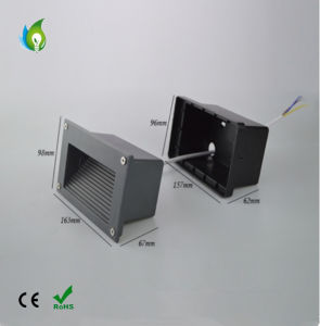 5W Hallway Corridor Steps LED Light AC85-265V Waterproof LED Wall Corner Lamps pictures & photos