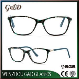 Fashion Popular Acetate Spectacle Optical Frame Eyewear Eyeglass Cm6010-Bl pictures & photos