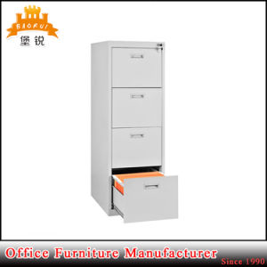 Cheap Wholesale Office Furniture Light Grey 4 Drawer Steel File Cabinet pictures & photos