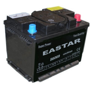 JIS 55D23-12V60ah Dry Charge Car Battery with RoHS/CE/Soncap pictures & photos
