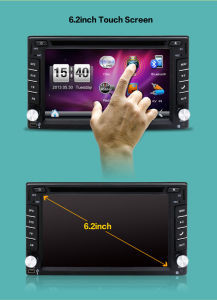 6.2inch 2 DIN in-Dash Car DVD Player pictures & photos