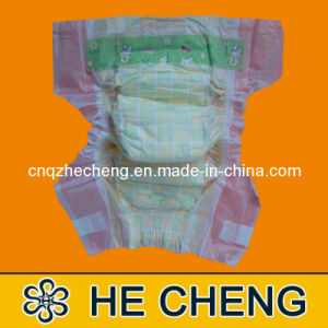 Disposable Sleepy Cloth-Like Baby Nappies Diapers pictures & photos