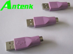 PS/2 Female to USB Male Mouse and Keyboard Adapter pictures & photos