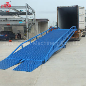 Mobile Hydraulic Loading Dock Ramp for Container pictures & photos