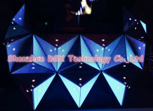P5 Triangle DJ Booth LED Display for Night Club