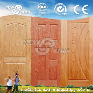 Sapeli Veneer HDF Moulded Door Skins pictures & photos