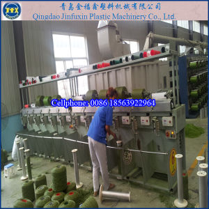 Plastic Artificial Grass Lawn Production Machine Line pictures & photos