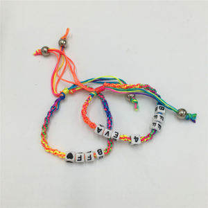 New Style by Handmade Knitting Bracelet with Alloy pictures & photos