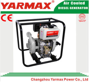 6.3kVA Yarmax 3 Inch High Pressure Diesel Water Pump (cast iron) pictures & photos