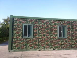20FT Container House for Military Dormitory pictures & photos