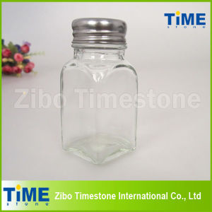 Glass Handpainted Spice Jar With Stainless Steel Lid (TM110) pictures & photos