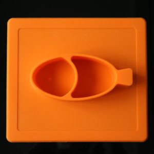 Eco-Friendly Elastomer Toddler Silicone Fruit Plate pictures & photos