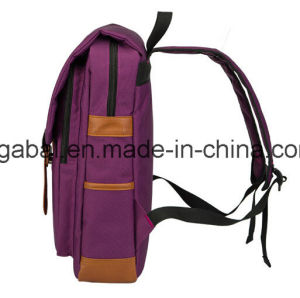 Burgundy Colleague Students Oxford Travel Sport Laptop Backpack Bag pictures & photos