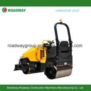 Vibratory Roller with Dozer Blade pictures & photos