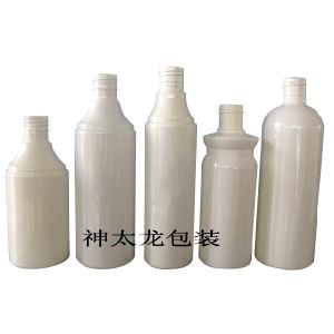 250ml and 350ml Pet Plastic Shampoo Bottle pictures & photos
