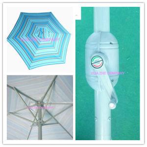 Hz-Um138 10ft (3m) Round Umbrella Crank Umbrella with Tilt Outdoor Parasol Garden Umbrella Patio Umbrella pictures & photos