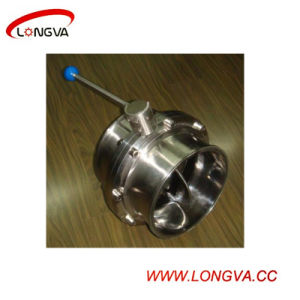 316 Stainless Steel Clamp Butterfly Valve pictures & photos